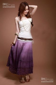 Wholesale Gypsy Boho Hippie Cotton Long Skirt Halter Dress Wedding Gift Lover Lady Girl Xmas Gift Q78, Free shipping, $17.05/Piece | DHgate