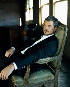 Eric Dane. Tell me that you've seen a mustache pulled off better and you'd be lying.
