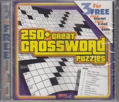 250+ Great Crossword Puzzles Windows PC Game by ValuSoft