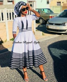 there are some incredible styles you can see with TRADITIONAL XHOSA AND ZULU that will make you the center of attention at any occasion Latest African Fashion Dresses, African Dresses For Women, African Print Fashion, African Print Dresses, African Shirts, African Women, Xhosa Attire, African Attire, Zulu