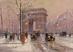 Edouard Cortes, Place de l'Etoile, Arc de Triomphe