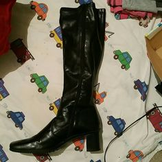 Boots Black boots Franco Sarto Shoes Over the Knee Boots