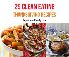 Clean Eating Thanksgiving Recipes Top