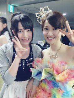 佐々木優佳里  優子さんの卒業コンサート、 優子さんとっても綺麗でした♪♪  優子さんがAKB48に残してくれたもの、大切なことをこれからも忘れず、、、  そして、、、  AKB48に新しい何かをつくっていけるようにわたしらしく前を向いて がんばっていきたいと思いました!  #AKB48  p.s 今日は雨がやんで本当によかった♪