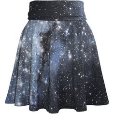 Hubble Galaxy Skater Dress Skirt