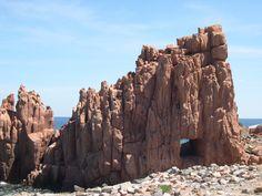 Sardinien - Sardegna - Arbatax Beautiful Beaches, Beautiful Things, Wild Nature, Mount Rushmore, Travelling, Journey, Europe, Exterior, Spaces