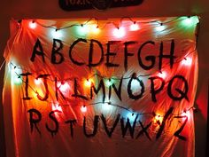 DIY Stranger Things banner