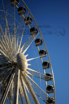 Carousel Wheel at V&A Waterfront in Cape Town