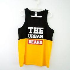 Tank Top Black&Yellow #basketball urban tee