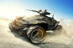 Futuristic Military Vehicles | : all terrain armored desert snow all wheel drive concept vehicle ...