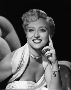 Celeste Holm- Great Actress of the Screen and Stage. Had a carrer in both which is what I hope to have
