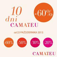 Zapraszamy do CAMAIEU :)