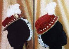 I am just loving this hat! I need to replicate it, but first I need a brooch like this!!! http://www.lynnmcmasters.com/redhat.html