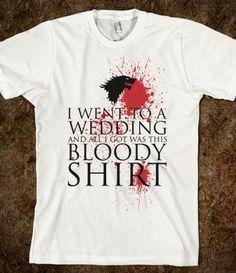 Wedding Gift - Game of Thrones