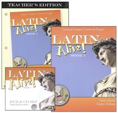 Latin Alive! 1 Bundle -- Thinking of trying this with B & T (but should I *really* try yet another Latin curriculum? hmmm...)
