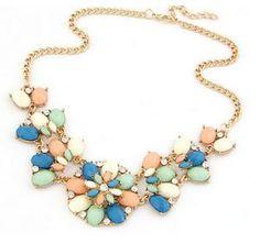 Rhinestone Double Necklace Collar Choker                      – Lavenderella