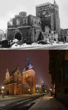 I Photographed Gdańsk, Old City That Was Destroyed During War, And Rebuilt By Polish People 1000 Years, Old City, World War Two, Poland, Germany, Louvre, History, House Styles, Building