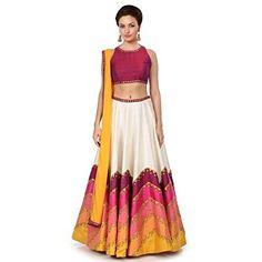 Z Fashion Maroon Lehenga Cholis Lehenga, Online Shopping Stores, Fashion Prints, Two Piece Skirt Set, India, Clothes For Women, Womens Fashion, Skirts, How To Wear