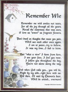 Loss Of A Loved One Quotes And Poems Amusing Poems Funeral Poems Sympathy Poems  Planning A Funeral