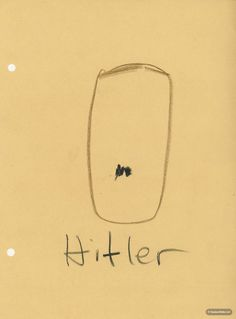 Hitler by Eudora Welty