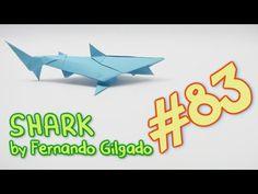 #83 Origami SHARK - Yakomoga Origami tutorial