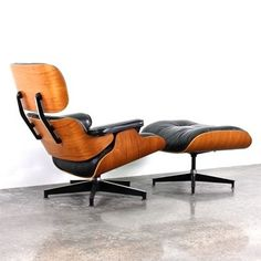 Located using retrostart.com > Lounge Chair by Charles and Ray Eames for Herman Miller