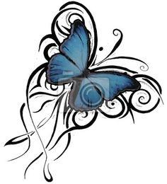 Butterfly Tattoos Designs Part Celtic Butterfly Heartagram By On Deviantart. Celtic Butterfly Tattoos Celtic Butterfly Tattoo A. Engel Tattoos, Bild Tattoos, Love Tattoos, Beautiful Tattoos, Picture Tattoos, Body Art Tattoos, Tribal Tattoos, Tattoos For Women, Tatoos
