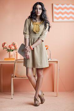 Office Style, retro dress