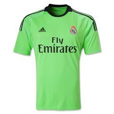 9b90a28dd Real Madrid 13 14 LS Away Goalkeeper Soccer Jersey Football Shirts
