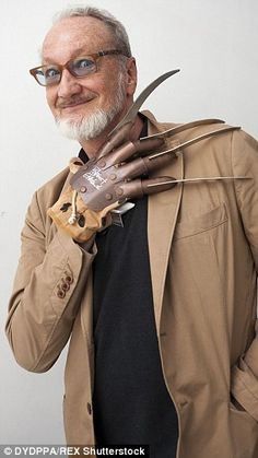 Horror maestros: The character, created by Wes Craven, was made famous by Robert Englund's portrayal in eight films