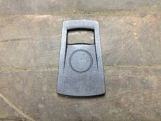 Hand cast from 100% recycled iron and seasoned with organic flax seed oil. Made by Borough Furnace in the U.S.A.