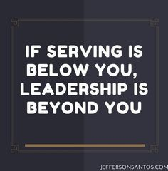 Servant Leader                                                                                                                                                     More
