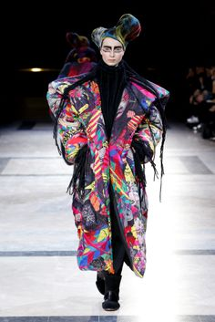 Yohji Yamamoto Women's Fashion Show A/W 2014-15 @ Monica Feudi