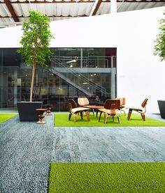 Interface has been providing the carpet industry with premium products inspired by the earth's natural habitats for years. The 2014 Human Nature™ Collection by Interface is no exception. The collection, made with 100% regenerated ECONYL® fiber, is made of 81% total recycled content.