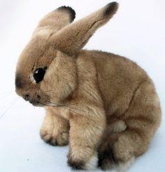 """Koesener 6981 - Kaninchen """"Sahara"""" beige 24 cm Kuscheltier, Hase, Stofftier, Plüschtier: Amazon.de: Spielzeug"""