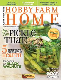 Hobby Farm Home Magazine for only $7.50 per year (49% off)!