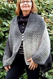 Ravelry: Lena's cape pattern by Lena Hillring