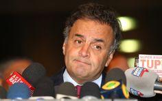 Para Golpista Aécio Neves, ninguém está acima da lei. Mas mensalão tucano repousa há 11 anos no MP
