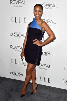 Kerry Washington Photos Photos - Actress Kerry Washington arrives at ELLE's 21st Annual Women In Hollywood at Four Seasons Hotel Los Angeles at Beverly Hills on October 20, 2014 in Beverly Hills, California. - ELLE's 21st Annual Women in Hollywood