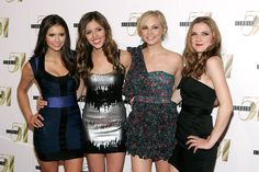 Kayla Ewell and Candice Accola - Nina Dobrev's Birthday Party At Studio 54's 12th Anniversary Celebration