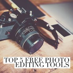 There are endless photo editing options out there, but save your money! Free photo editing tools can still enable you to create some really quality photos!