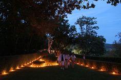 Jardins de Marqueyssac Candlelit by night