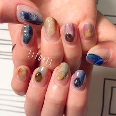 Bostonからのお客様✨Thank you very much !!▪▫▪️ #nail#art#nailart#ネイル#ネイルアート #ennui#nuance#クリアネイル#大理石ネイル#ショートネイル#nailsalon#ネイルサロン#表参道#nuance111#大理石111#colorful111#クリアネイル111 (111nail)