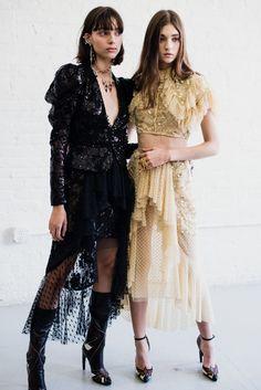 CR Fashion Book - BACKSTAGE AT RODARTE SPRING 2017