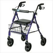 Invacare Blue Lightweight Folduping Walker Rollator *** This is an Amazon Associate's Pin. View the item in details on Amazon website by clicking the image