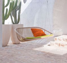 garden swinging chair SWING by Edward Van Vliet PAOLA LENTI
