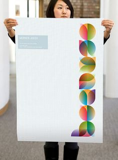 """Because"" poster series by Wolff Olins. http://www.flickr.com/photos/wolff_olins/sets/72157627114721073/"