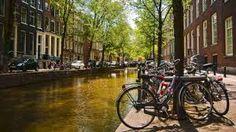 Amsterdam streets & bikes