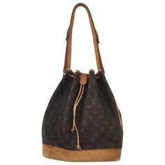LOUIS VUITTON Noé cloth handbag