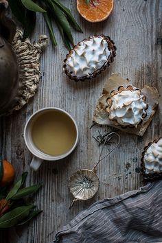 winter citrus tarts